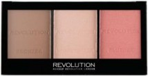 MAKEUP REVOLUTION ULTRA BRIGHTENING CONTOUR KIT ZESTAW DO KONTUROWANIA ULTRA FAIR C01 11765